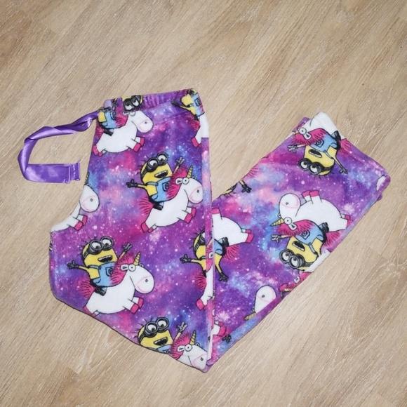 5e1b5ef6fa9b Despicable Me 3 Intimates & Sleepwear   Fluffy Minion Unicorn Pajama ...